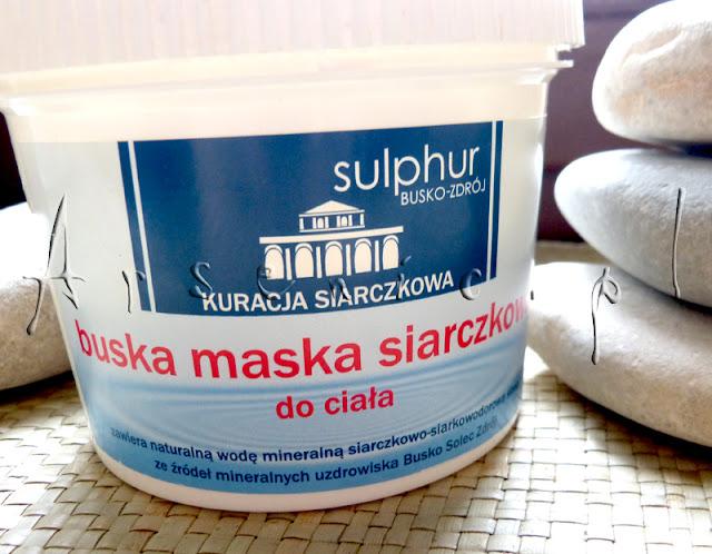 Buska maska siarczkowa z Sulphur Busko-Zdrój