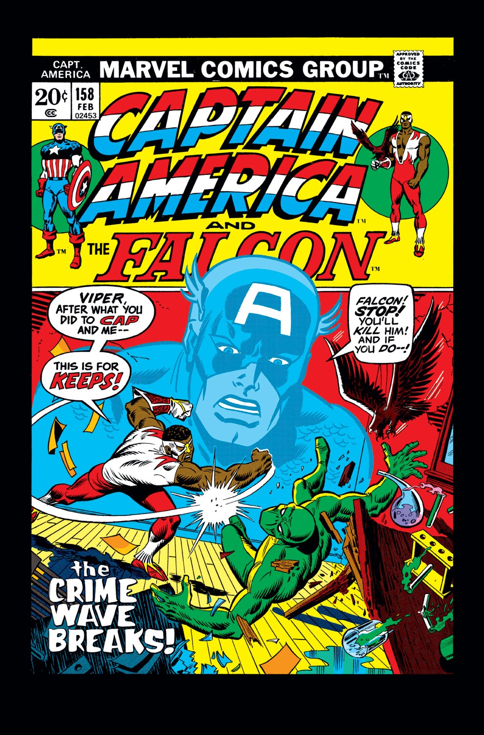 Captain America (1968) Issue #158 #72 - English 1