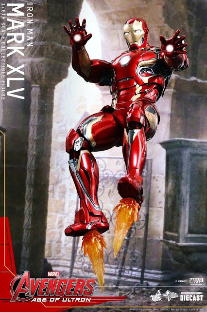 marvel hot toys action figure iron man