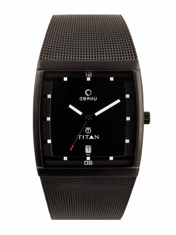 watches titan watches for men