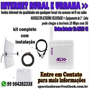 INTERNET RURAL 3G