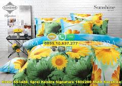 Harga Sprei Kendra Signature 180×200 Motif Sunshine Jual