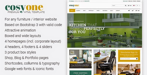 Download Gratis CosyOne WordPress Theme