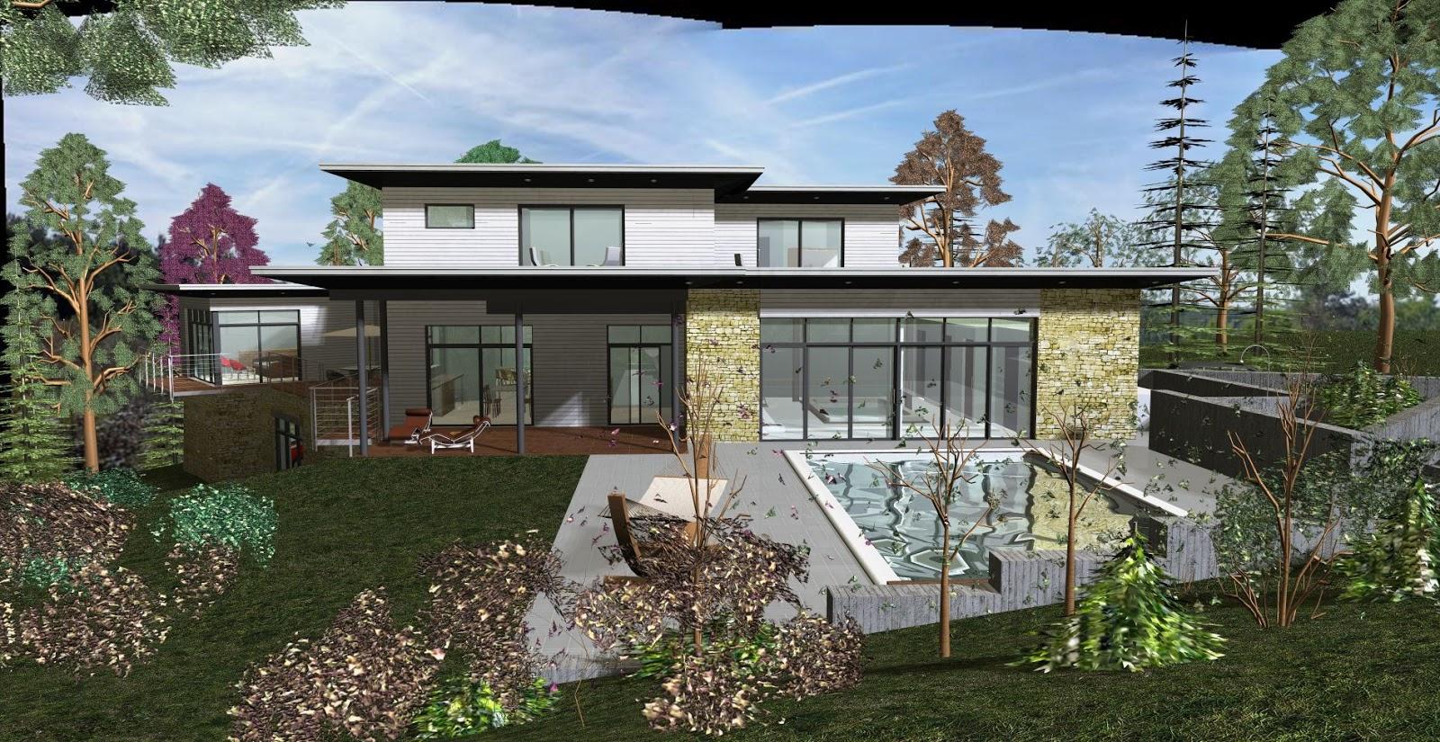 architecte p rigueux julien flahaut maison individuelle boulazac. Black Bedroom Furniture Sets. Home Design Ideas