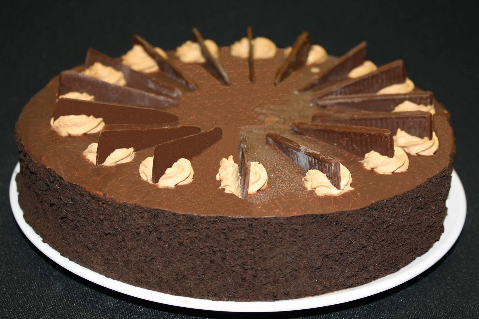 ... enjoy this top chocolate recipe – chocolate mousse cheesecake recipe