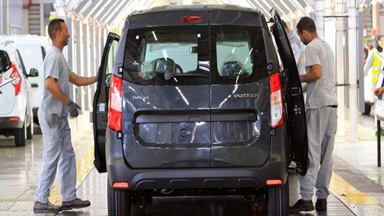 La planta de Renault-Nissan