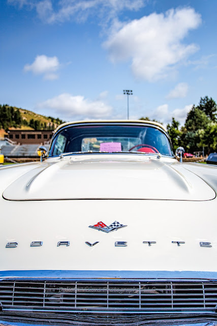 Kool Deadwood Nites 2015 - 1961 White Corvette from Wyoming