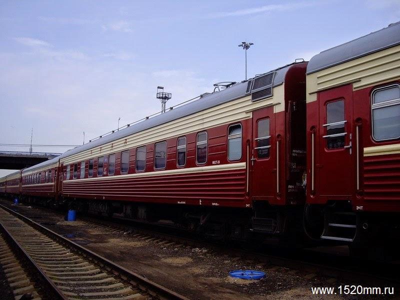 Поезд Москва — Екатеринбург