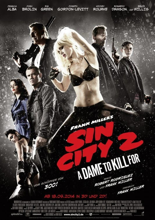 Sin City 2 A Dame To Kill For / Half SBS / 1080p / EN / 2014