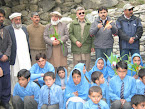 SHADARI PUPILS WITH HONORABLE GUEST