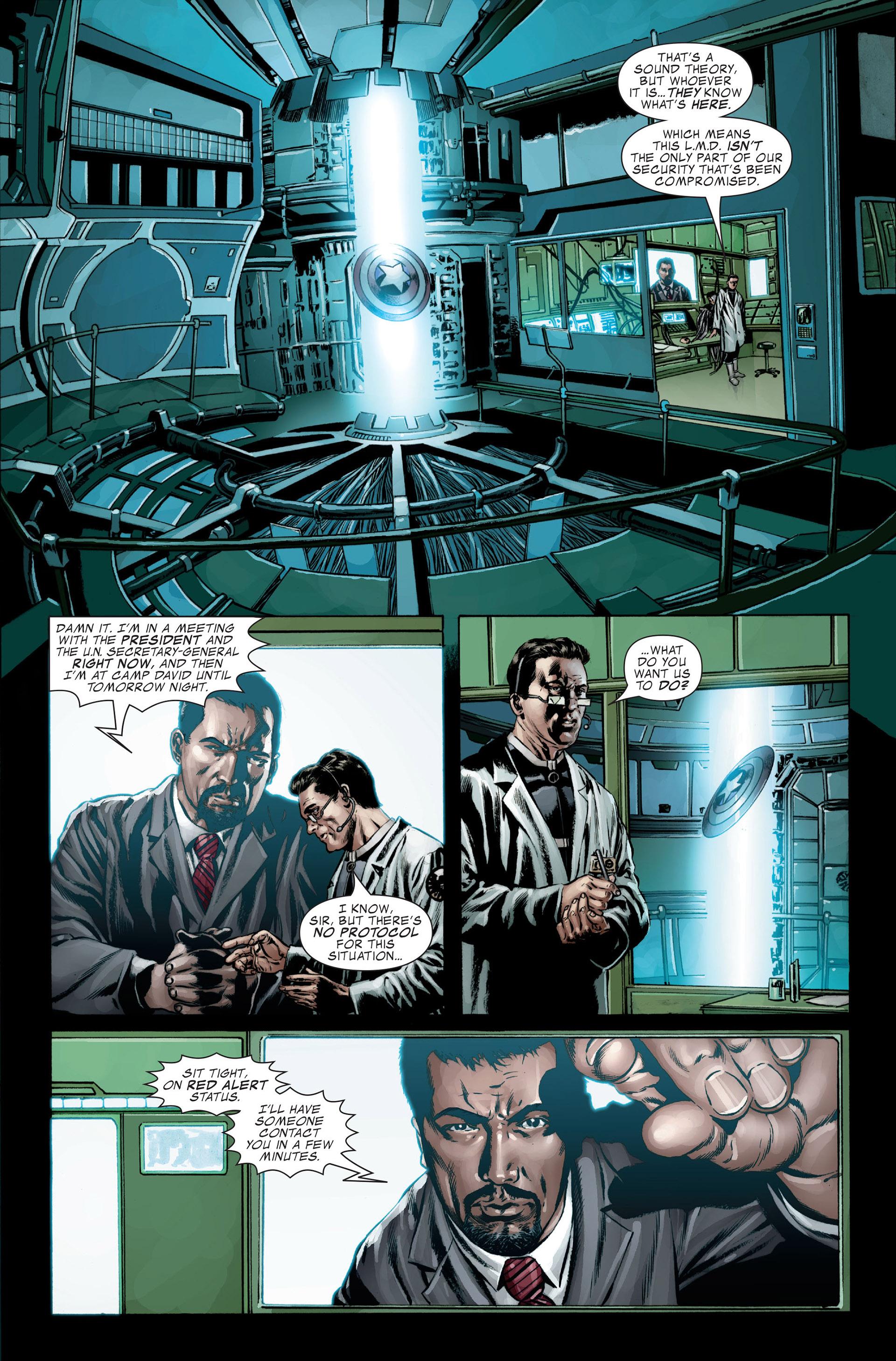 Captain America (2005) Issue #27 #27 - English 12