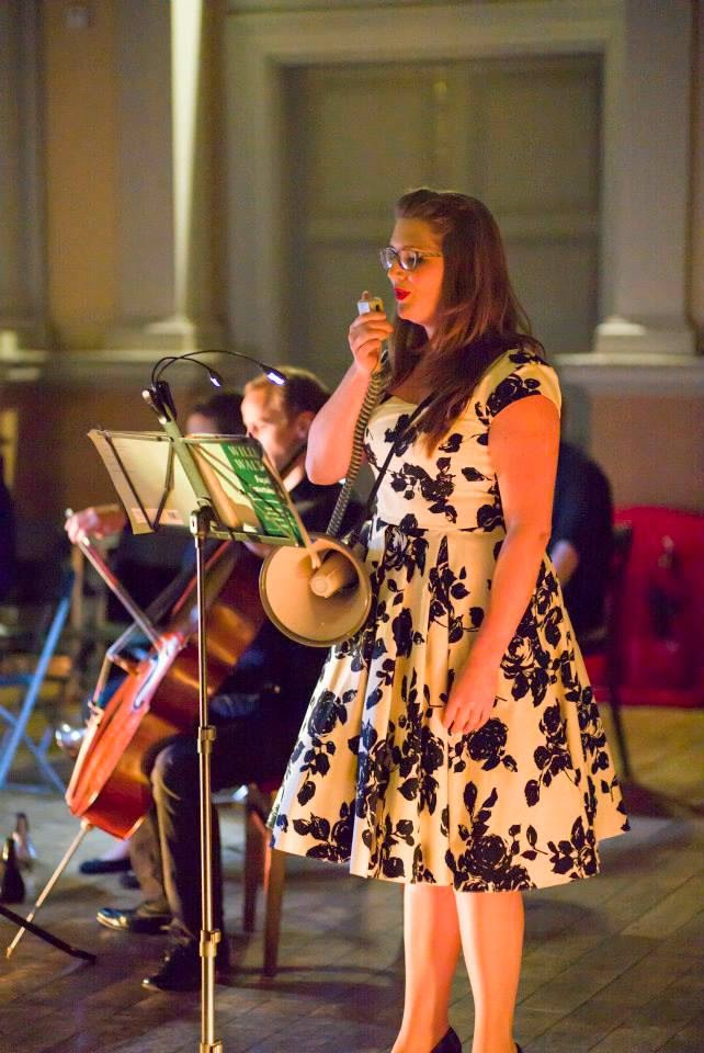 Jenny Stafford and Shadwell Opera - photo Nick Rutter