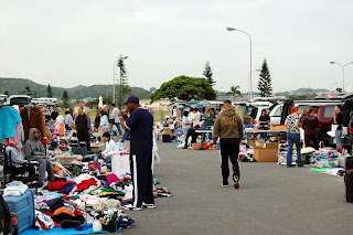 buying and selling in okinawa chibana flea market
