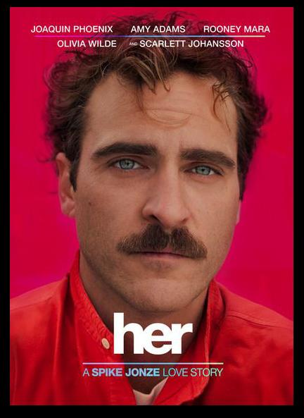 HER Joaquin Phoenix film Spike Jonze Love Story cartel
