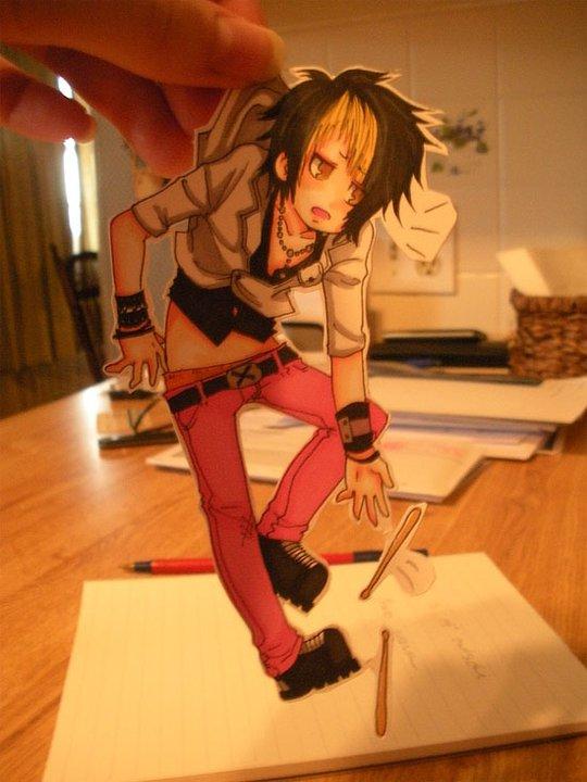 Figuras Anime en papel. 250282_10150262342124819_213182229818_7274024_5508880_n