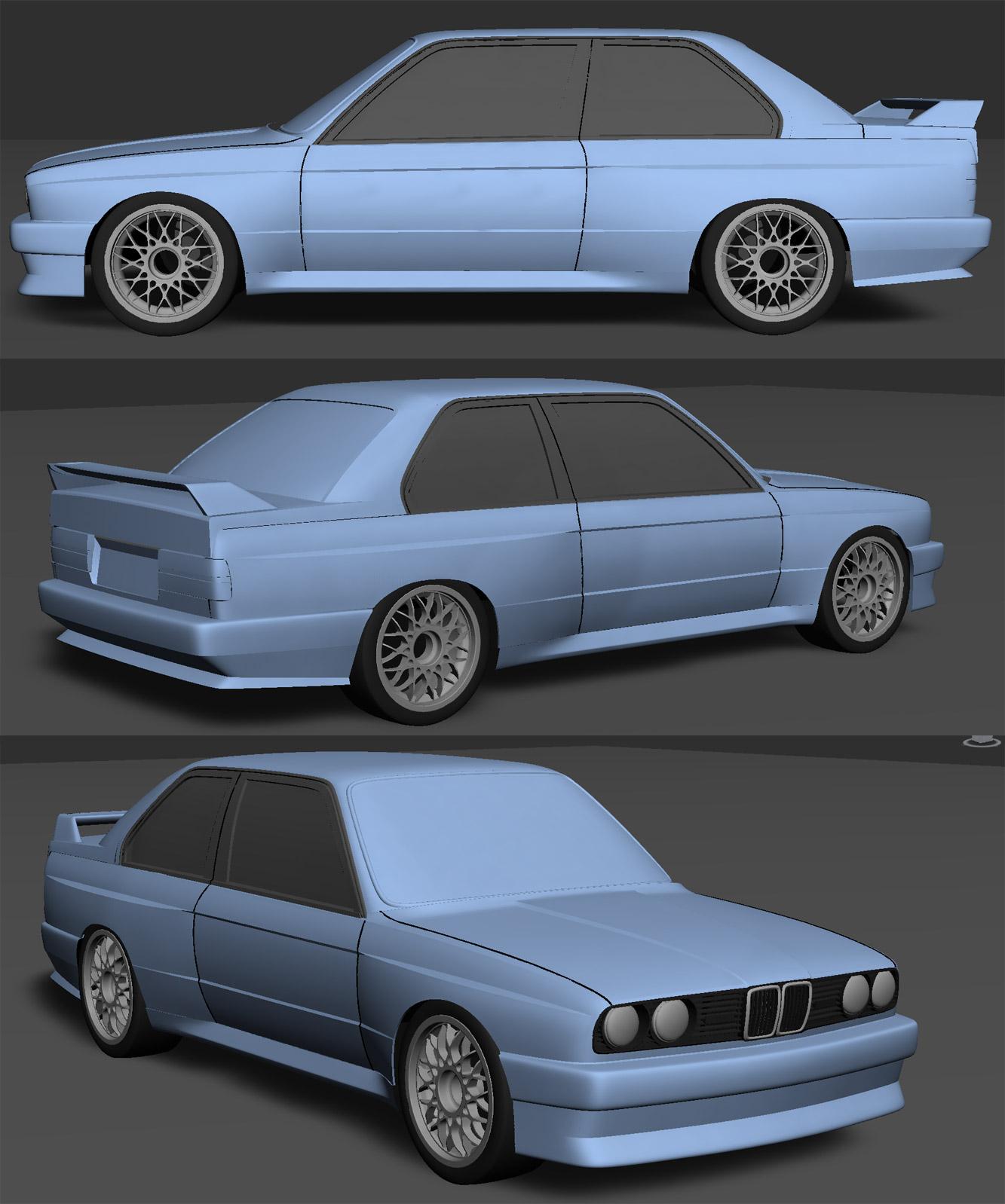 Bmw E30 M3: C . A . R . S . SIMRACING: BMW M3 E30 GroupA