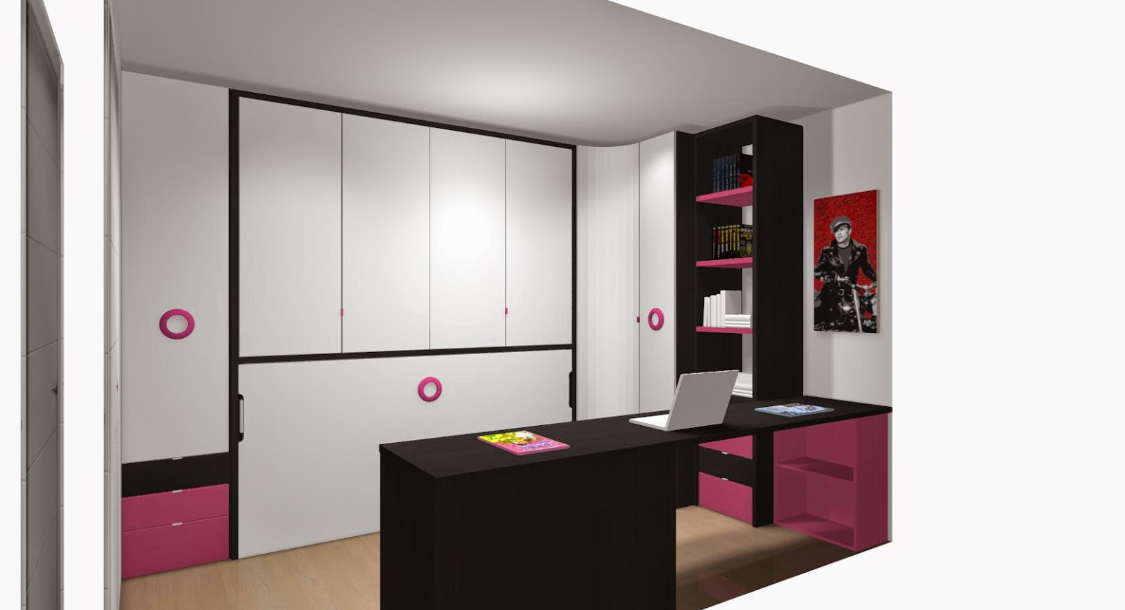 5 premisas para amueblar los dormitorios juveniles for Habitaciones juveniles con cama grande