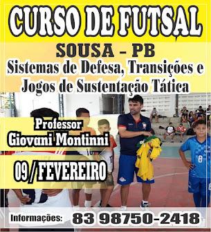 Treinadores, Estudantes e Amantes do Futsal