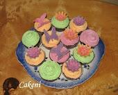 Virágos muffinok/Muffinuri
