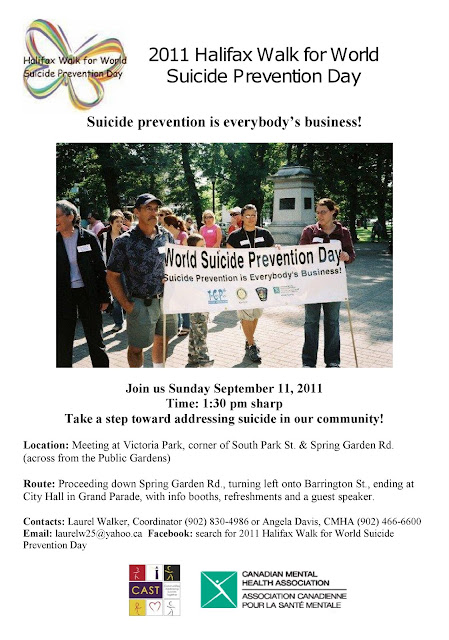 Halifax Walk for World Suicide Prevention Day
