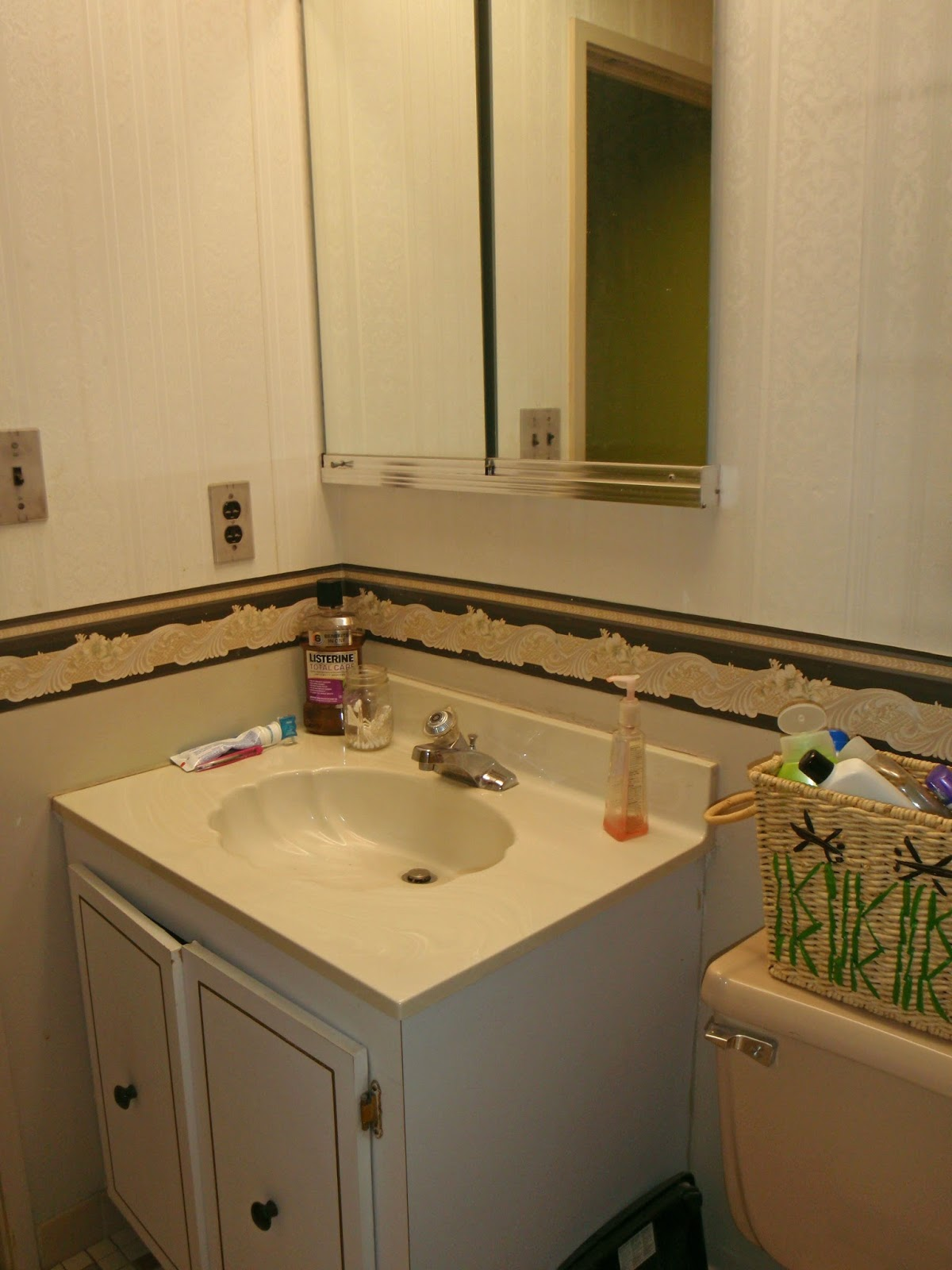 the obligatory blog the demise and rebirth of bathroom 1