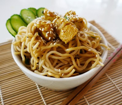 Mie Goreng or Indonesian Fried Noodles