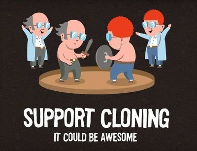 cloning yes or no Today on the rents, we are talking about cloning your dog what do you think would you do it yes or no barbra streisand thinks cloning your dog is cool.