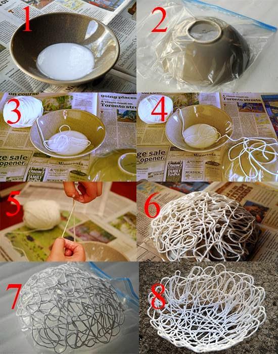 Craft bowl Diy