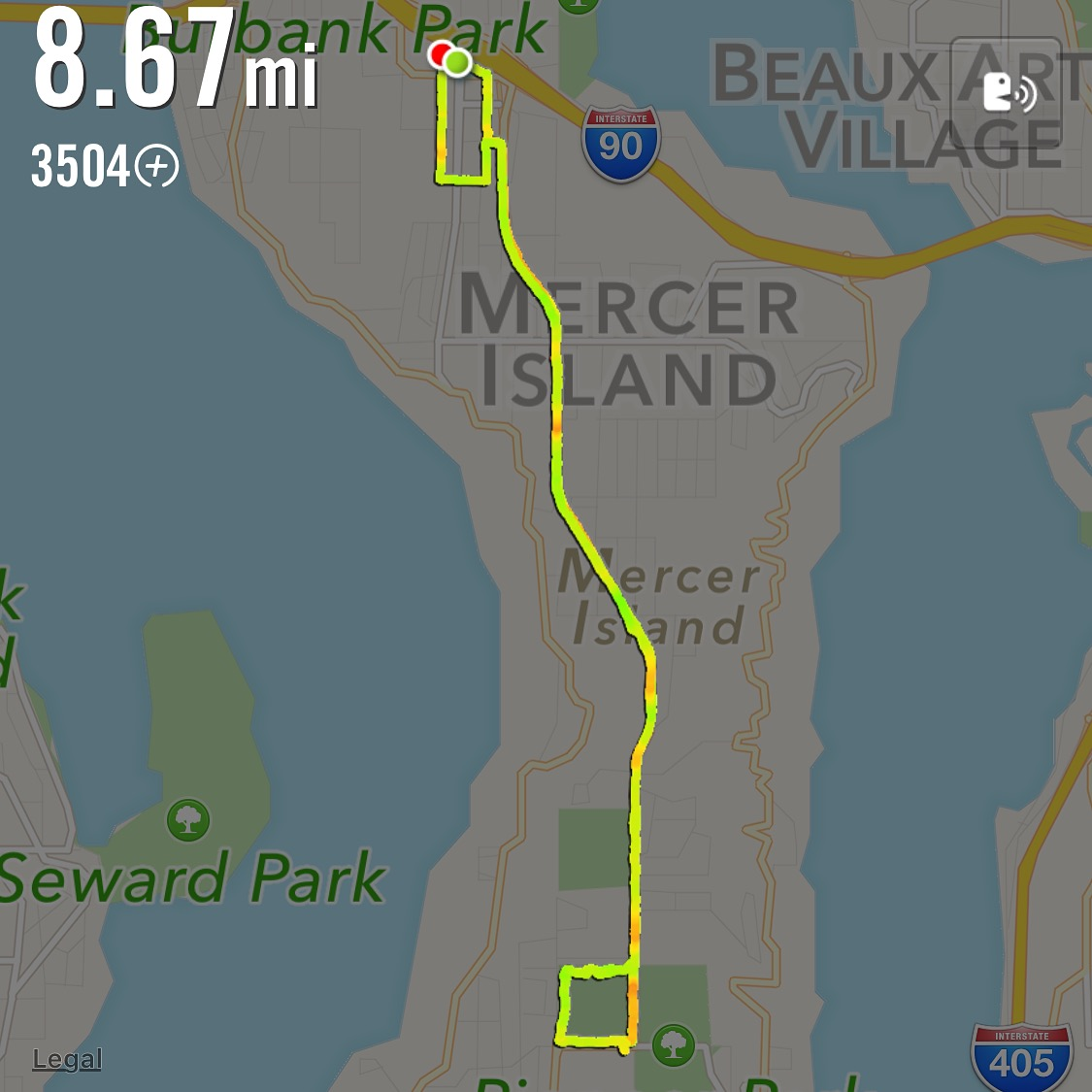 Love running, love Mercer Island.