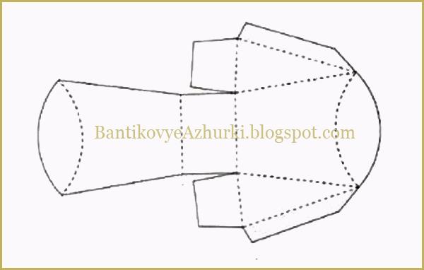 схема упаковки для подарков своими руками