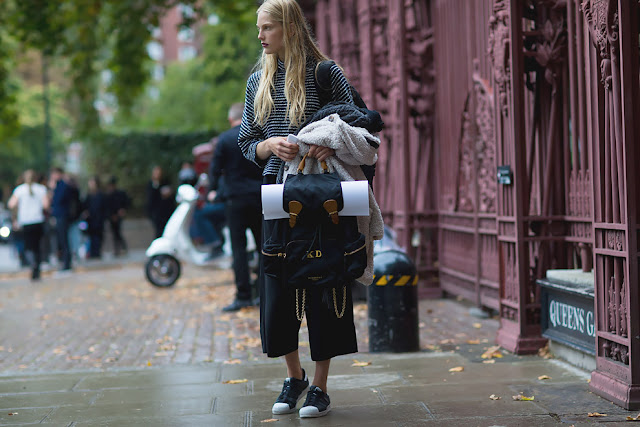 London Fashion Week Spring - Summer 16 Street Style (II)
