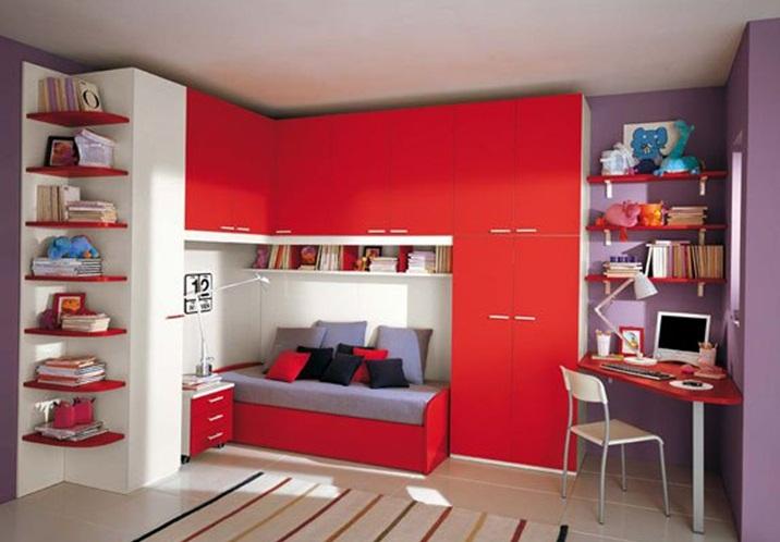 Decoraci n de cuartos infantiles con poco espacio - Habitaciones pequenas ninos ...