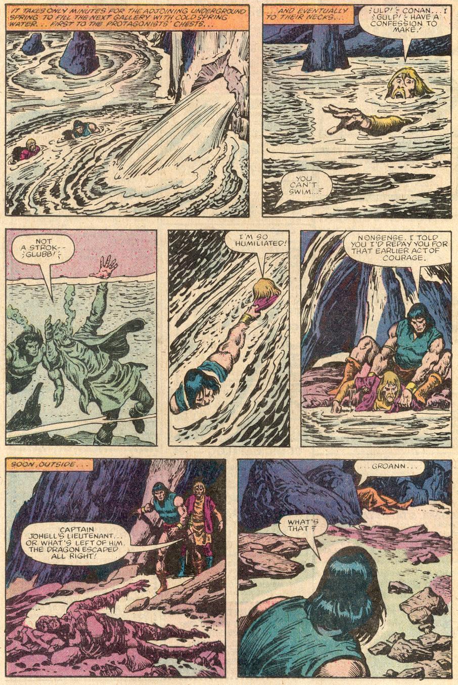 Conan the Barbarian (1970) Issue #144 #156 - English 17