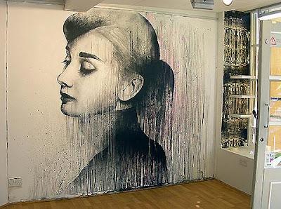 Mural Audrey Hepburn