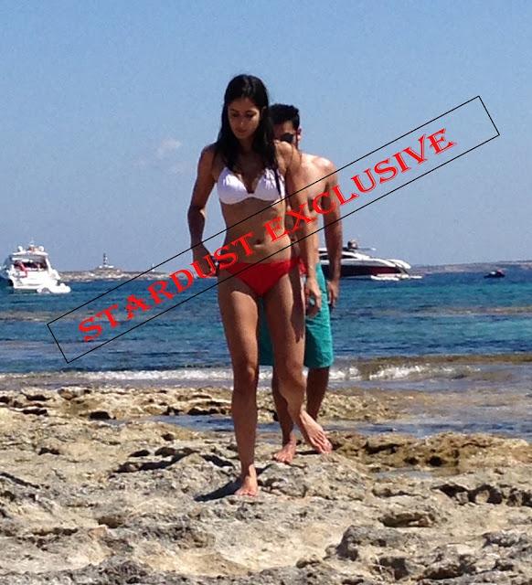 Ranbir Kapoor & Katrina Kaif Spotted In Bikini On Spain Beach