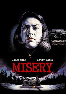 Misery stephen king kathy bates horror movie film book book novel novels inspired dream dreams