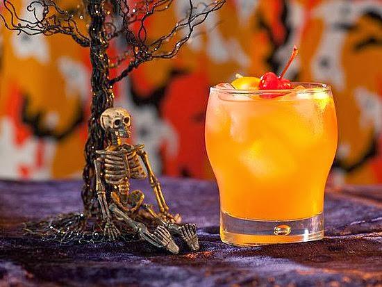 It's Halloweek! Monster Mash Zombie Cocktail