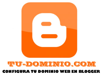 configura tu dominio para blogger