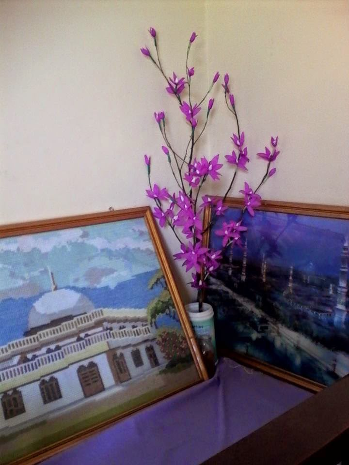 Tips Ibu Hebat Bunga Sakura Dari Kertas Krep