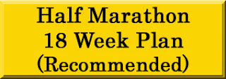 18 Week Half Marathon Training