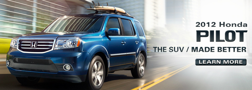 2012 Honda Pilot Debuts With Sleek New Look, Improved Fuel Economy And  Upgraded Interior Features