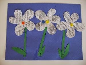http://www.notimeforflashcards.com/2009/09/recycled-flower-art.html