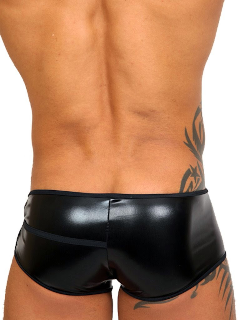 Pistol Pete Master Trunk Underwear Black Back Gayrado
