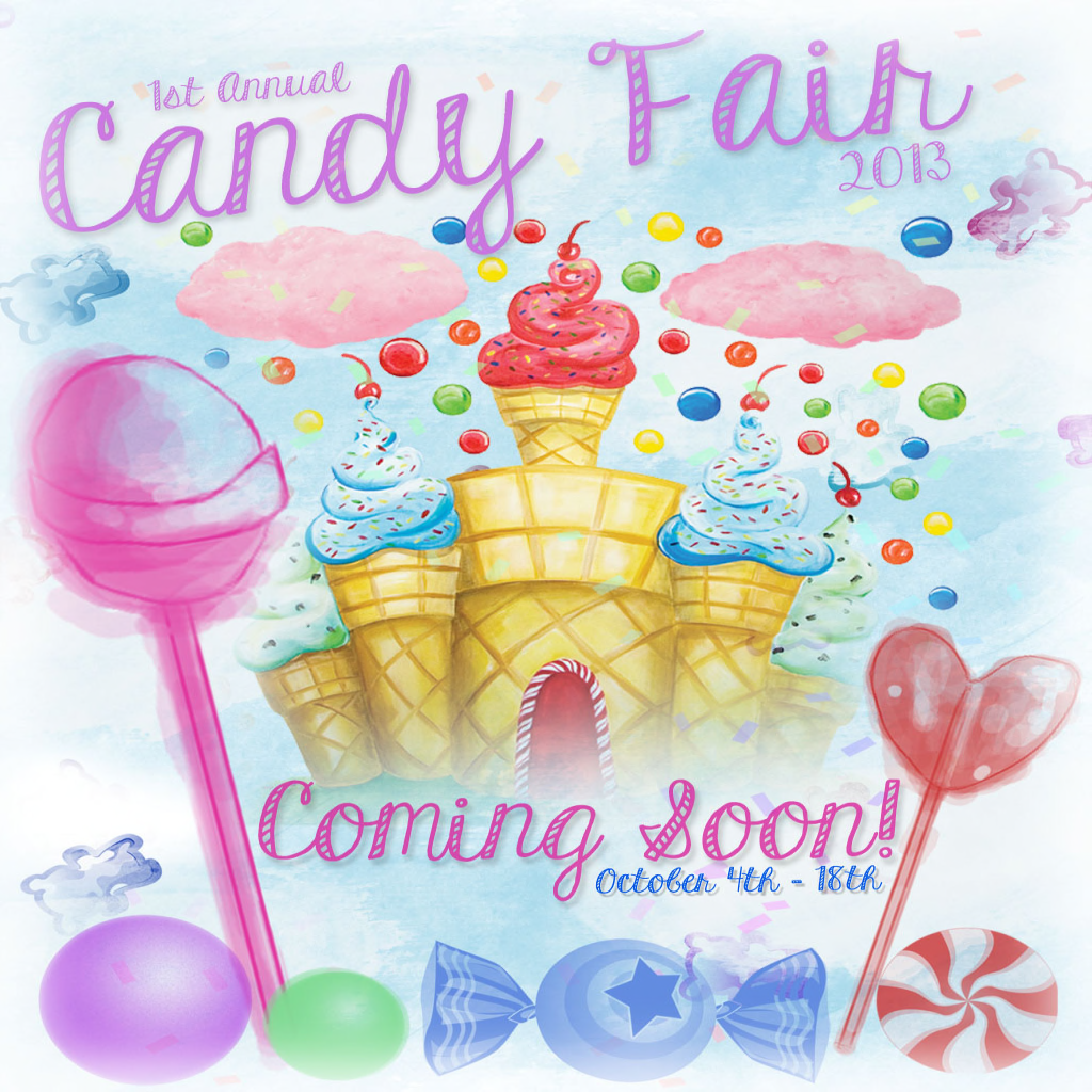 candy fair 10 / 4 to 10/18