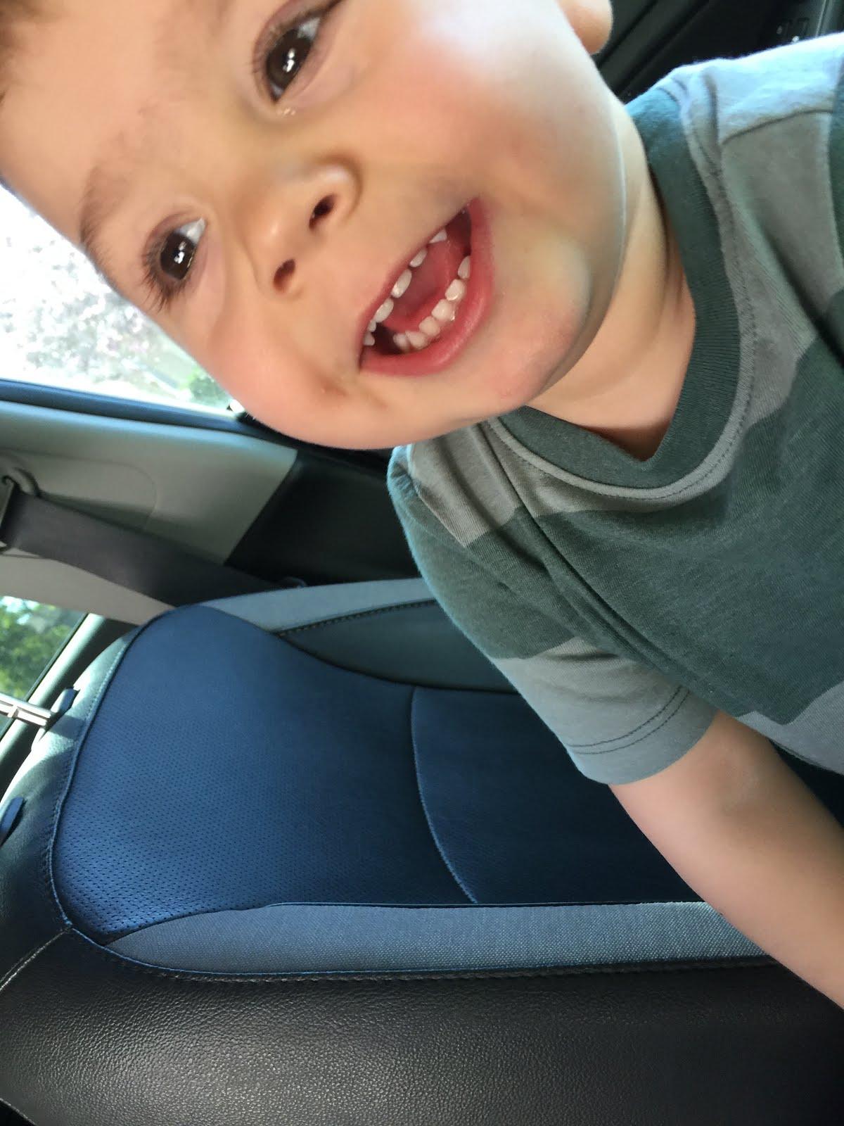 My grandson Henry