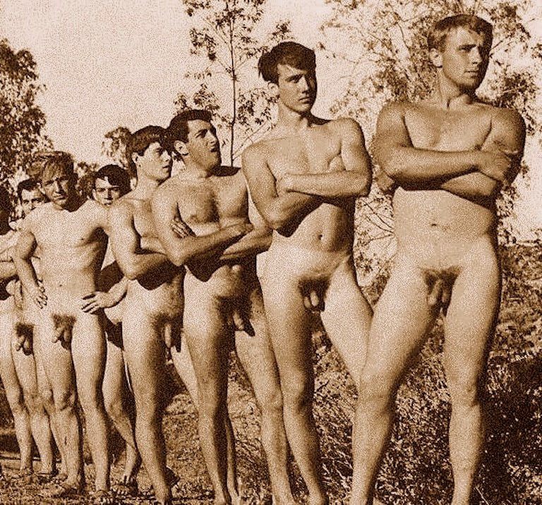 Vintage male nude pictures not