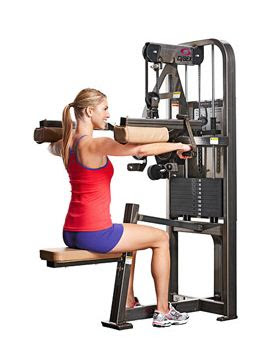 shoulder machine workout