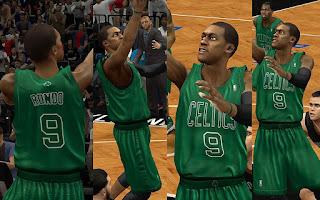 NBA 2K13 Boston Celtics Christmas Jersey