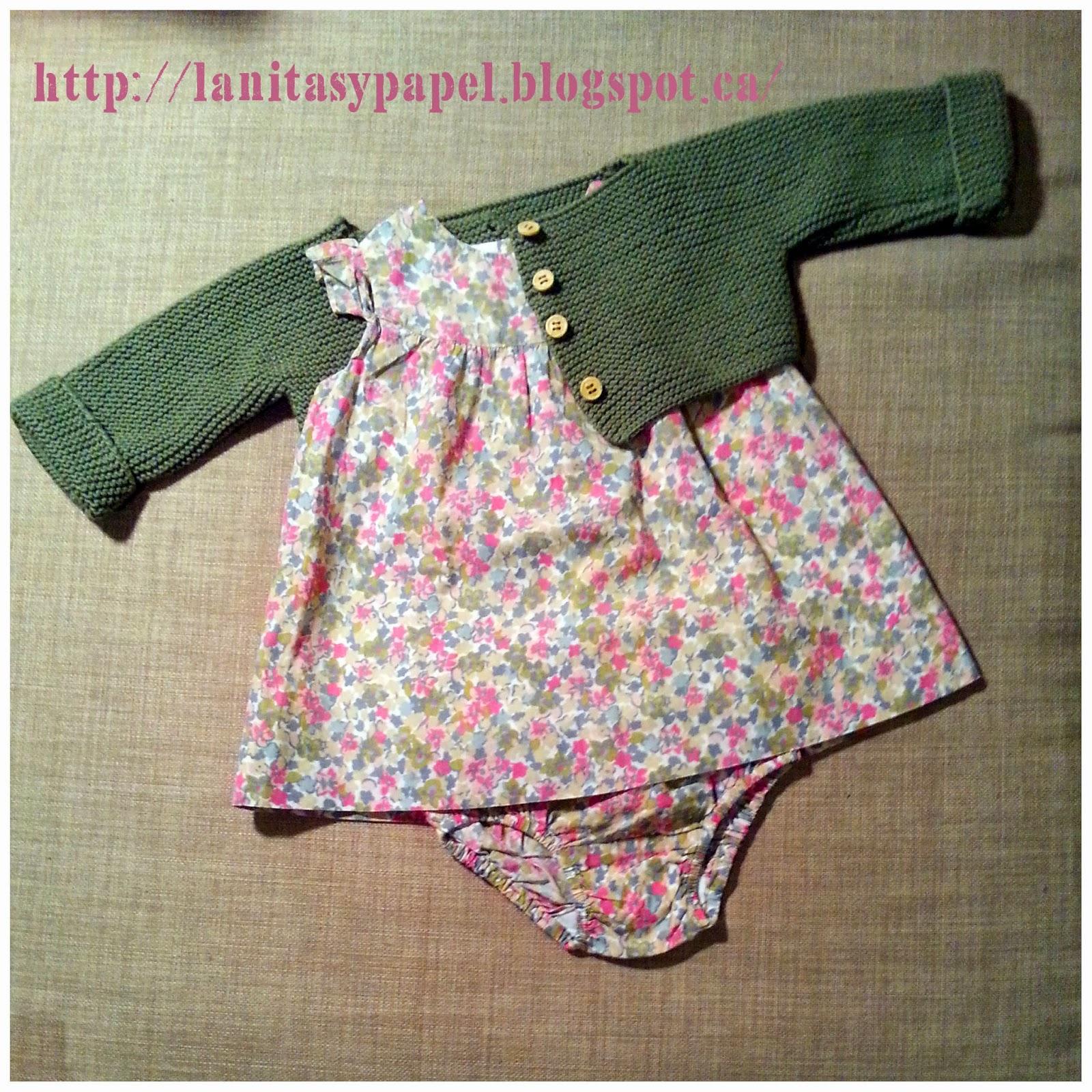 Lanitasypapel marzo 2015 - Tejer chaqueta bebe 6 meses ...