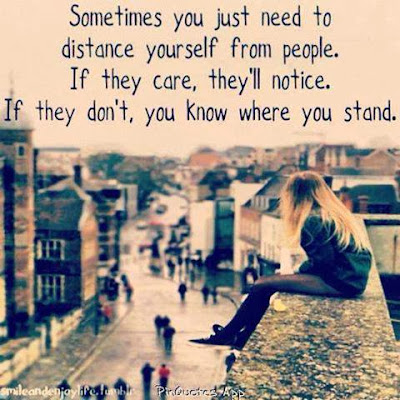 sometimes you know where stand in a relationship